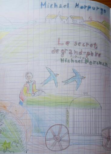 Silvia partage avec vous son joli dessin du Secret de grand-père.