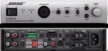 IZA 250, Bose, Amplificador para instalación, amplificador mezclador