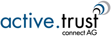 Logo active.trust connect AG
