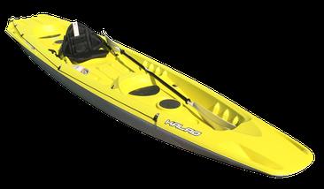 BIC Kalao Kajak für 3 Erwachsene oder 2 Erwachsene + 1 Kind, Familienkajak bei Höfner-Boote®