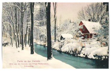 Postkartenansicht am Zwönitzbogen
