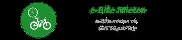 e-Bike mieten e-motion e-Bike Welt Hombrechtikon