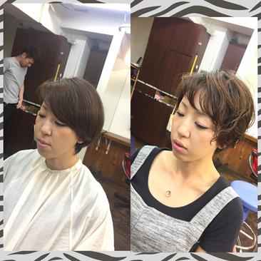 横浜の無責任美容師☆奥条勇紀☆ペタッとした髪には・・・デジパーでふんわり髪へ♪