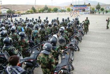 Det paramilitære Bassij-milits