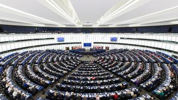 Det Europæiske parlament i  Straßburg