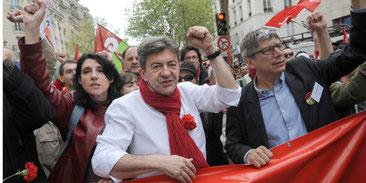 Jean-Luc Mélenchon fra 'Parti de Gauche'