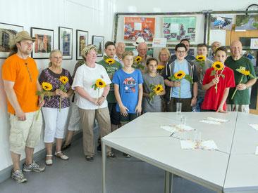 Ein Dankeschön an alle Aktiven der Fotogruppe Zühlsdorf und des Beachclubs!