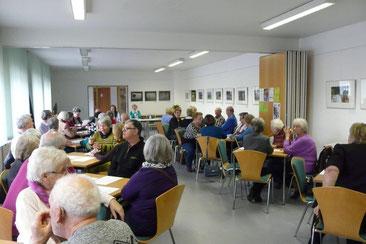 Bericht der Vorsitzenden der Ortsgruppe Zühlsdorf über das Jahr 2015