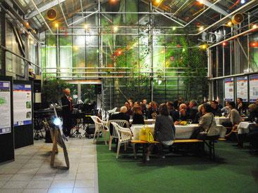 Feier im Mittelmeerhaus des Botanischen Gartens Bonn