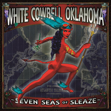 WHITE COWBELL OKLAHOMA  New Music Video 'Harder Come, Harder Fall' + Tour Dates (EU), News Rockers And Other Animals, Rock News, NWOBHM, Rock Magazine, Rock Webzine, rock news, sleaze rock, glam rock, hair metal