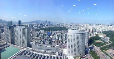 Seoul, Skyline, Südkorea