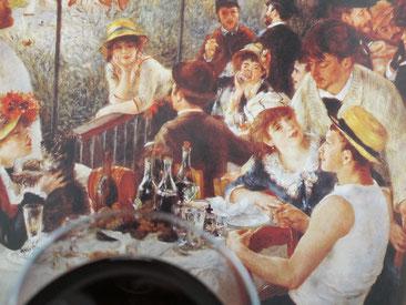 involuté le déjeuner des canotiers de auguste renoir