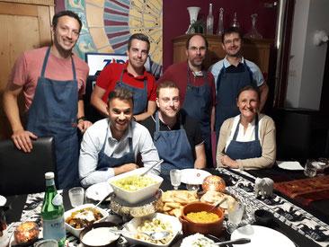 Team building, atelier cuisine, équipe, renforcement, motivation, entreprises