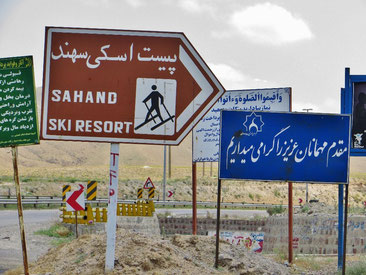Was man nicht vermuten würde: Im Iran gibt es tolle Skigebiete.