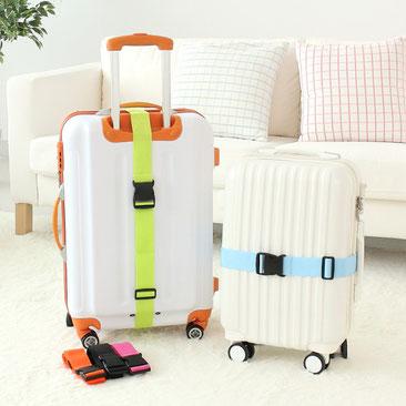 Distingue tu maleta con una cinta - AorganiZarte