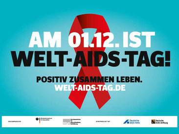 Am 01.12. ist WELT-AIDS-TAG