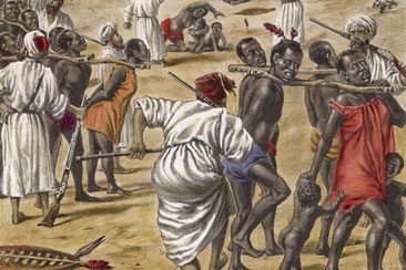 Arabi. La tratta degli schiavi negri.