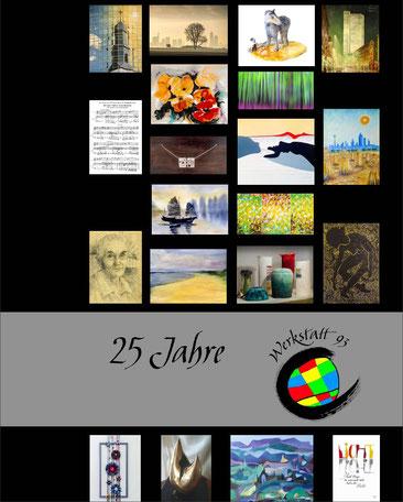 Bildband der Künstlergruppe: 25 Jahre Werkstatt 93
