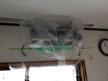 徳島県 阿南市 椿泊 エアコンクリーニング、エアコン洗浄
