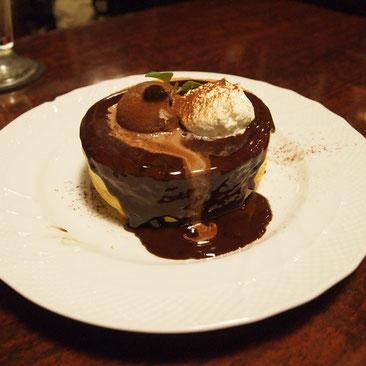 生チョコレートのスフレパンケーキ(シングル)