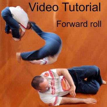 Video Tutorial come eseguire correttamente la caduta rotolando in avanti Forward Roll