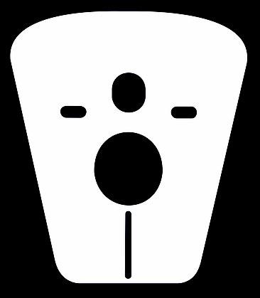 Protezione antiurto acustica sagomata per wc e bidet sospesi