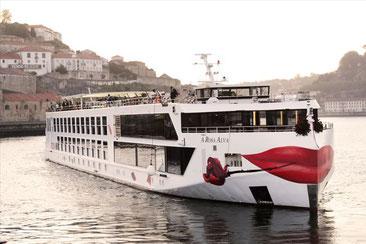 Arosa Flusskreuzfahrten 2022 Routen schiffe Diva Rhein Donau Rhone seine Douro