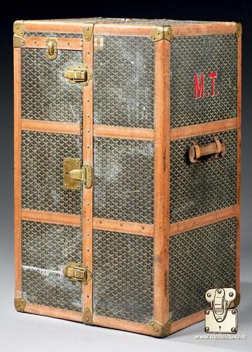 Goyard wardrobe trunk