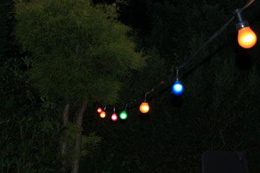 Leuchtschriftzug Party mit Batterie für eigene Feier