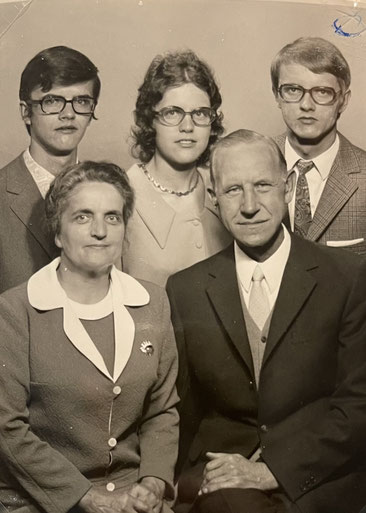 Familie Lüke - Silberhochzeit 1971