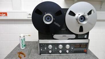 Schwerpunktgerät bei AudioContour - Revox B77