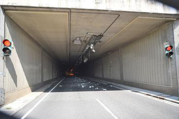 Archivfoto: Die Unfallstelle am 20. Mai 2020