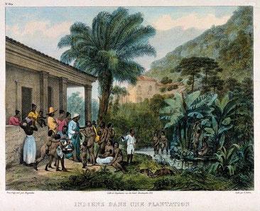 Die indigene Bevölkerung war Humboldt bei seinen Experimenten eine große Hilfe durch ihre guten lokalen Kentnisse