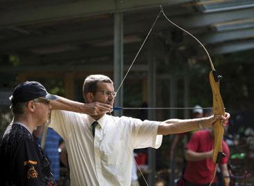 Schnupperschießen Bogenschütze