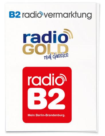 Logoentwicklung für Radiosender und Radiovermarktungsgesellschaft