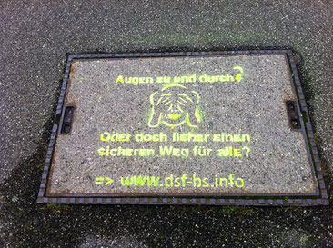 «Lidl-Kreuzung»: Für Blinde eine akustische Wüste und damit ein Gefahrenpunkt.