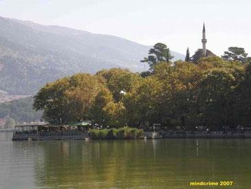 Aslan Pasha Mosque as seen from far