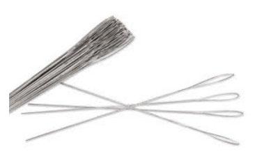 aghi setola acciaio