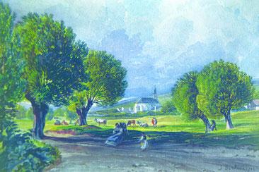 Die neue 500-Seelen-Gemeinde Baumgarten wird gegründet.