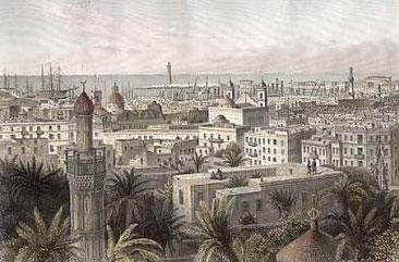 Gravat d'Alexandria 1863