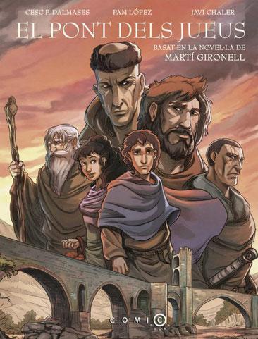 """Còmic de l'anterior novel·la, """"El pont dels jueus"""""""