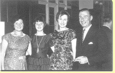 Left to right: Nora, Mary, Sheila and Frank Doel