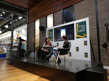 """Laia Aguilar i Marc Artigau a la presentació de """"Pluja d'estels"""""""