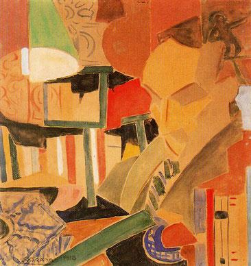 Retrat de Joan Salvat-Papasseit (1918), de Rafael Barradas