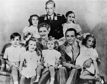 La família Goebbels al complet