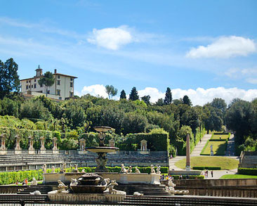 Jardins Bòboli (Florència, Itàlia) un dels escenaris de la novel·la