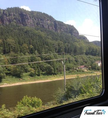 Treinreis naar Praag