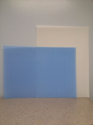 TurboCast® (blue) and AquaPlast® (white)