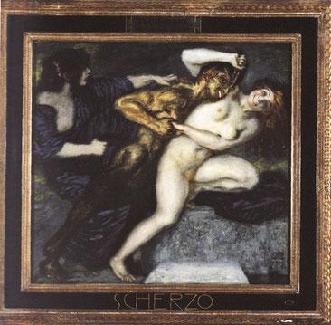 Franz von Stuck, Scherzo, 1907 (Museo Revoltella)
