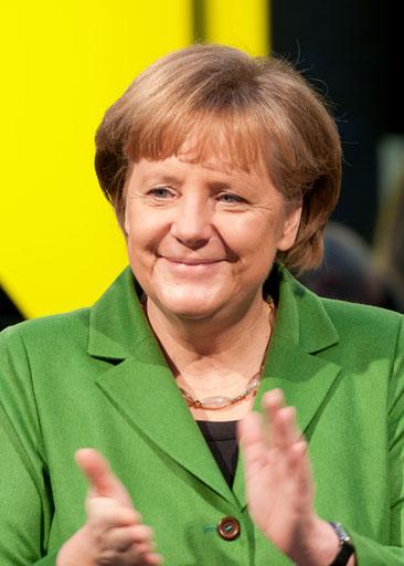 Angela Merkel bei der CeBIT-Eröffnung 2012. Foto: Ralf Roletschek/roletschek.at